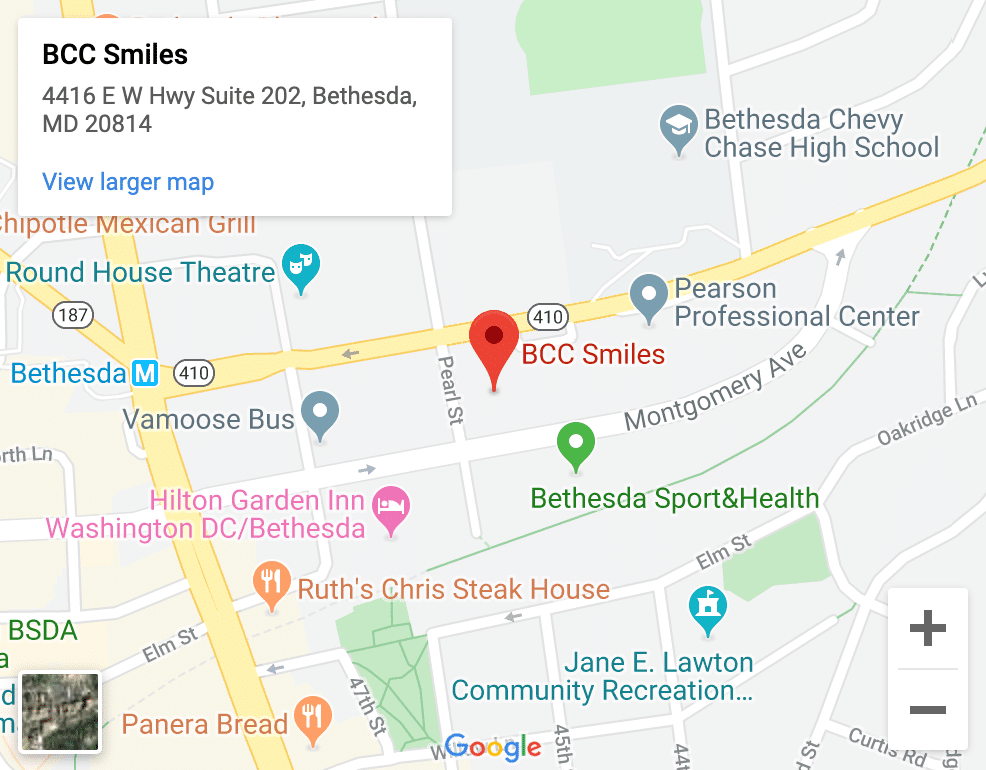 dentist bethesda md
